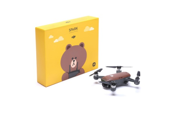 DJI releases a Spark drone with a bear face on it medium 23f0de9f 3527 41a7 b0dc 6c35248414f5