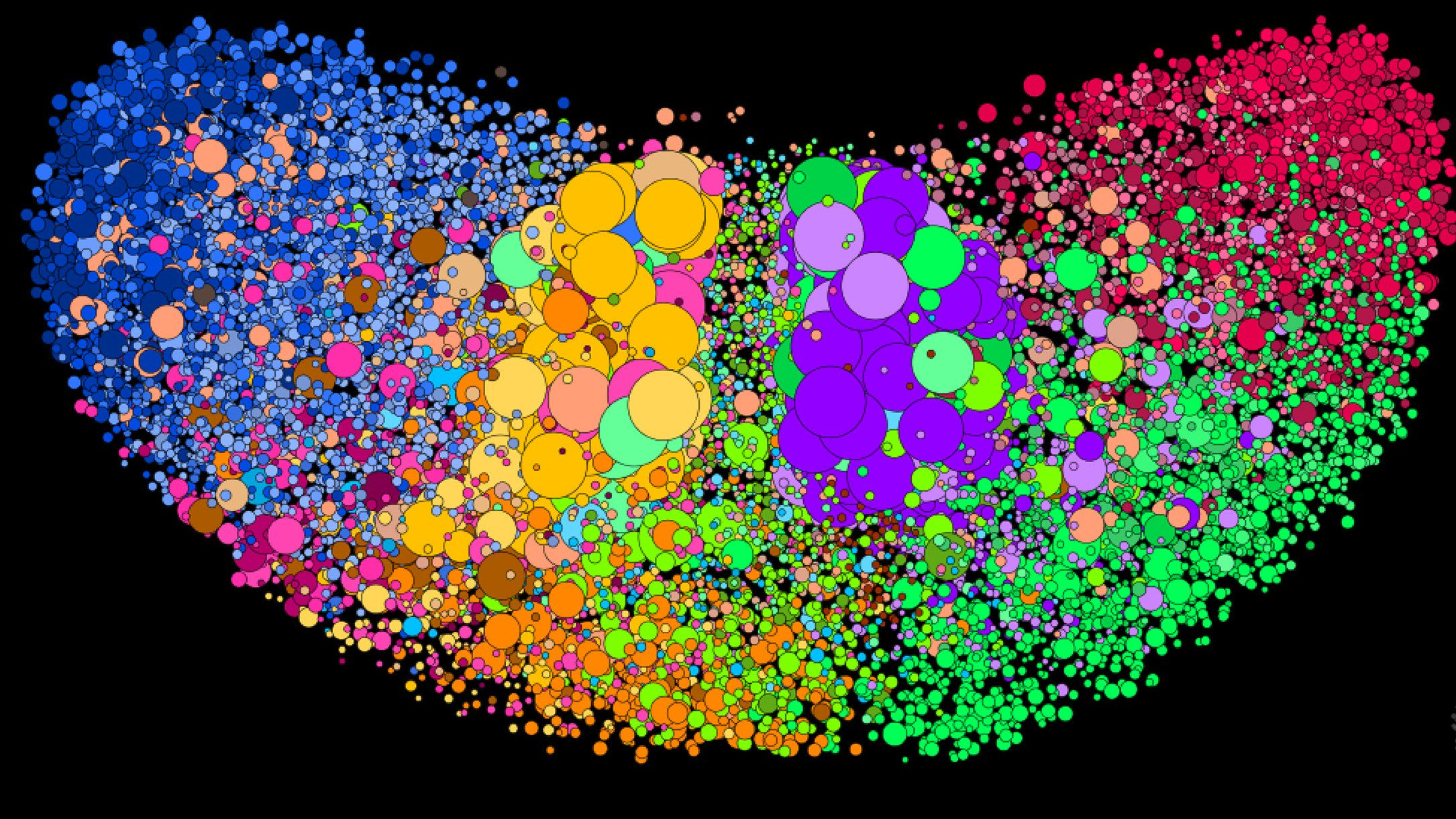 How Online Filter Bubbles Are Making >> Graphika Visualizes Twitter S Filter Bubbles In The Us Techcrunch