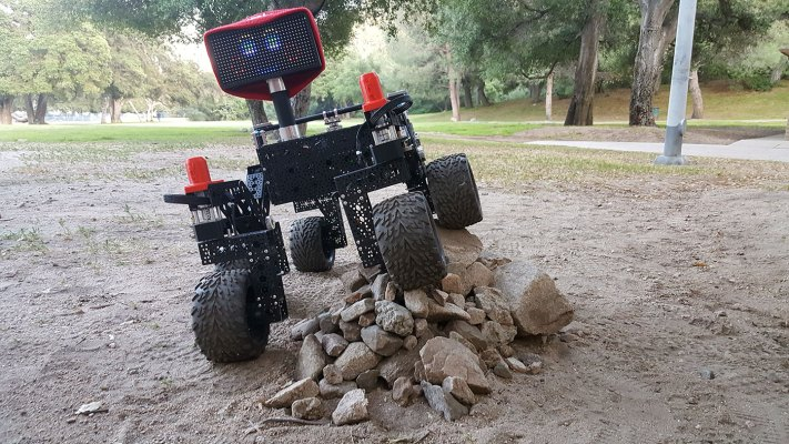NASA's Open Source Rover allows you to build your own