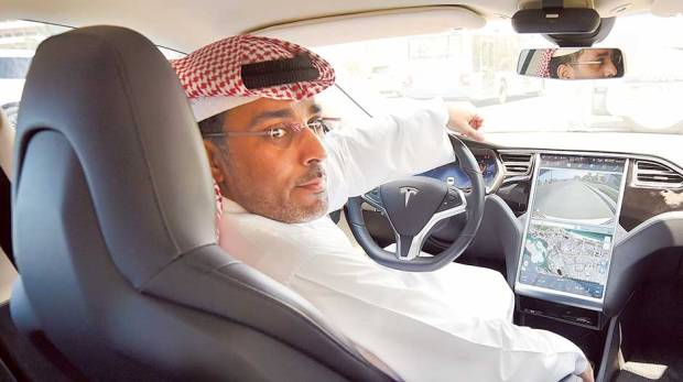 photo image A private Tesla backed by Saudi Arabia might not be as far-fetched as you think