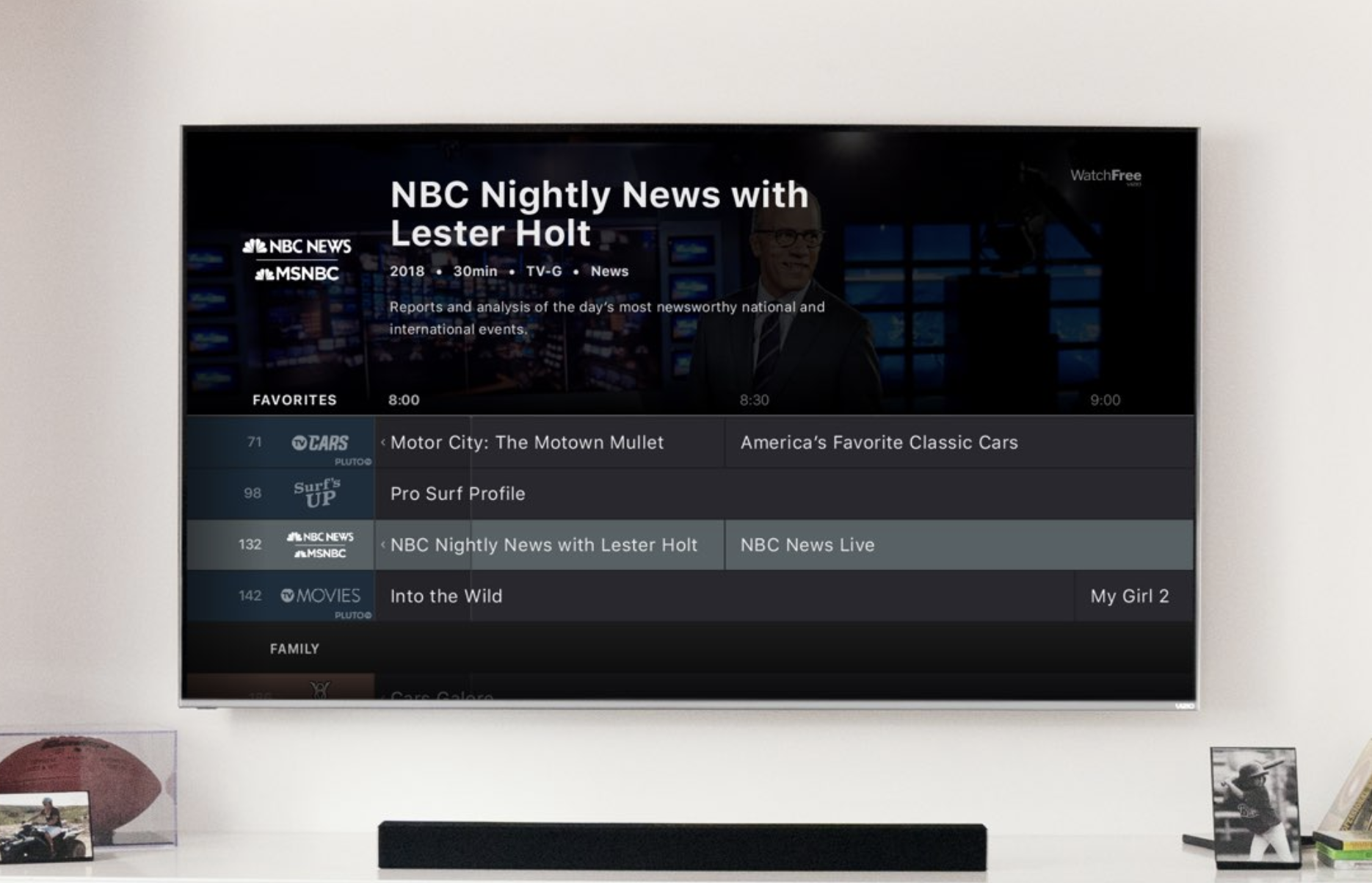 Vizio launches its own streaming service powered by Pluto TV