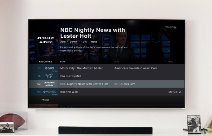 59bd5c57f6b Vizio launches its own streaming service powered by Pluto TV ...