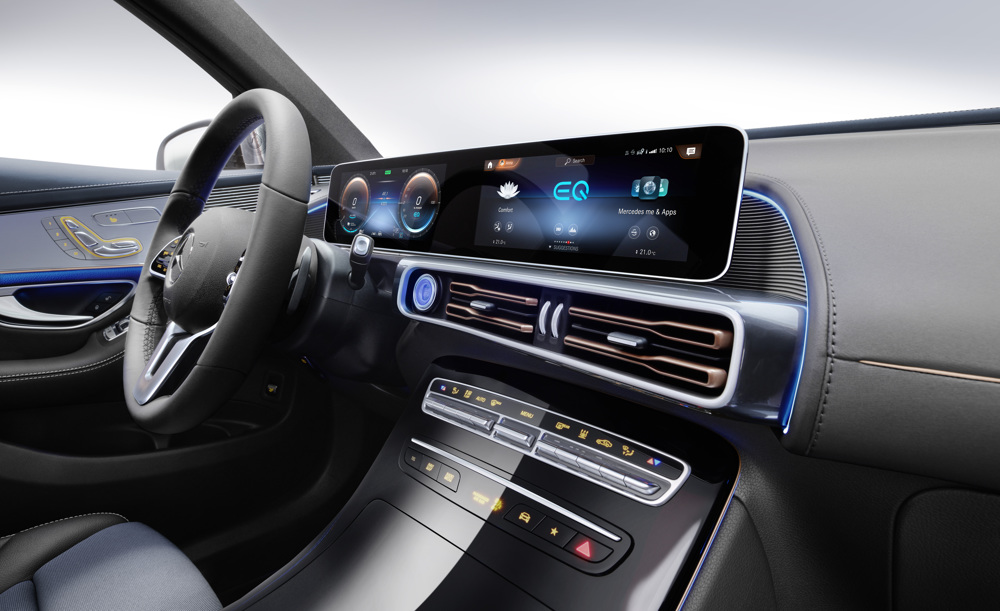 Mercedes-Benz unveils the EQC to kick off billion electric offensive