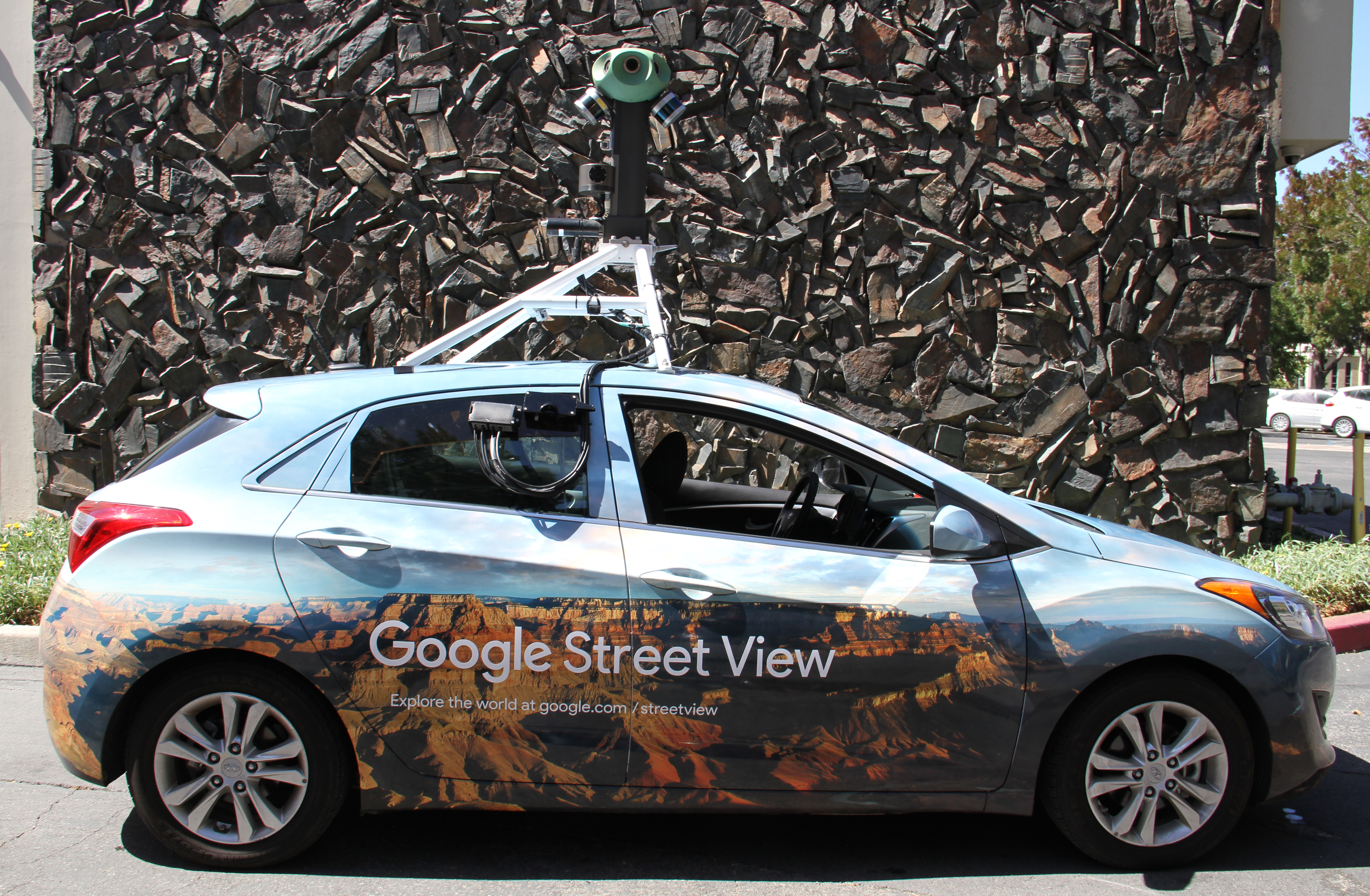 Google Street View cars will be roaming around the planet to