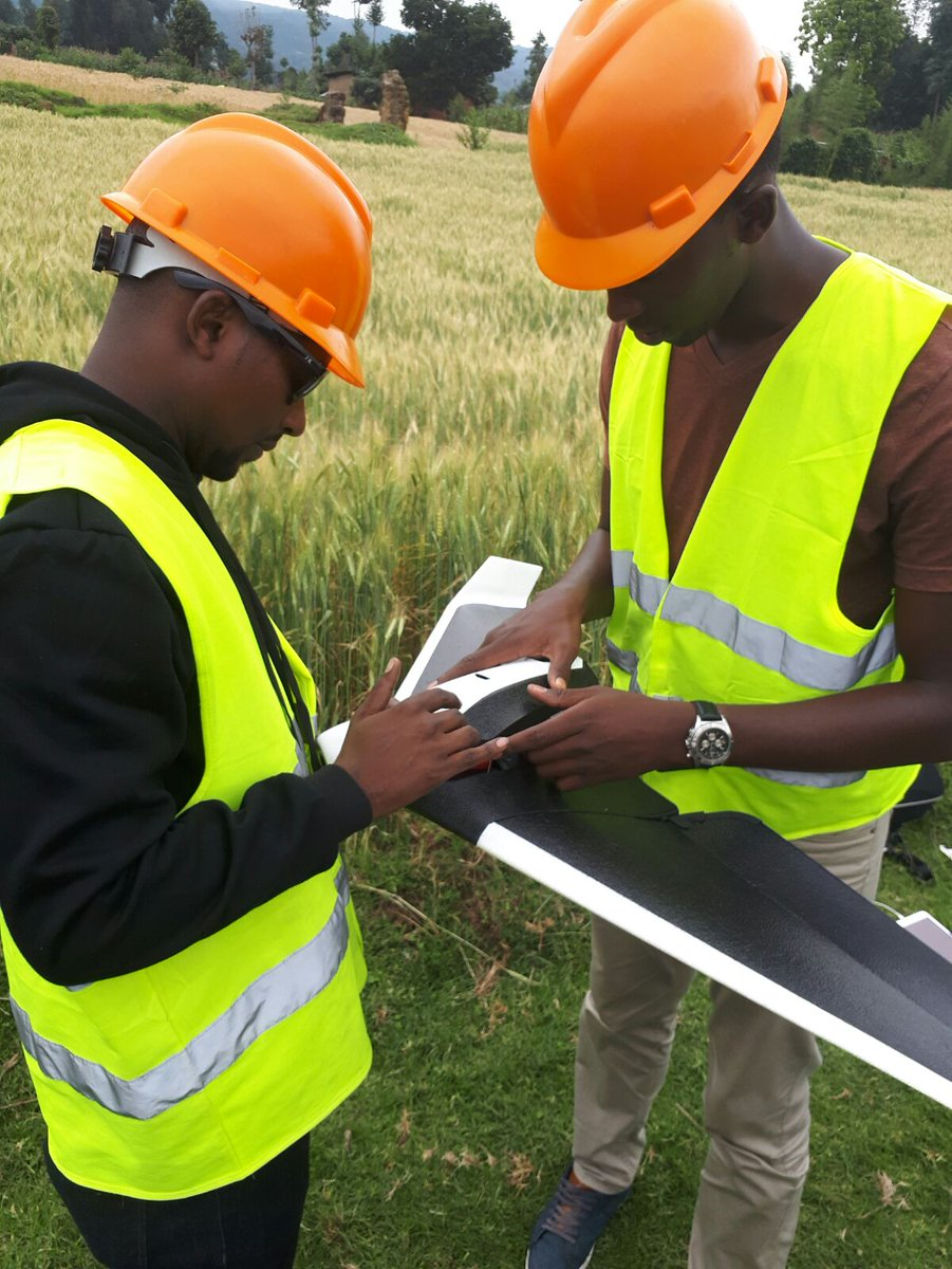 African experiments with drone technologies could leapfrog decades of infrastructure neglect CHARIS