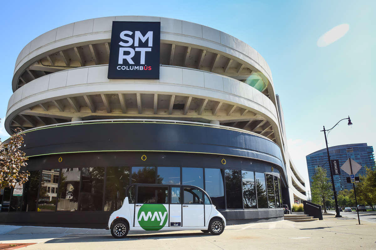 May Mobility puts autonomous shuttles on the streets of Columbus, Ohio