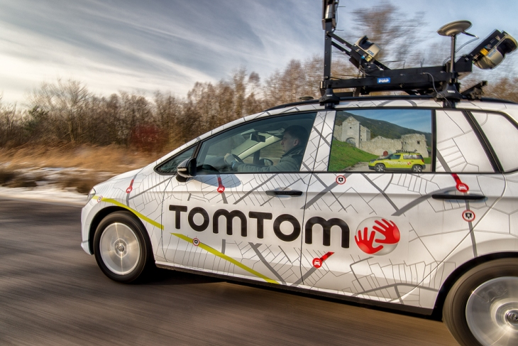 TomTom launches a free mobile maps SDK for developers | TechCrunch on