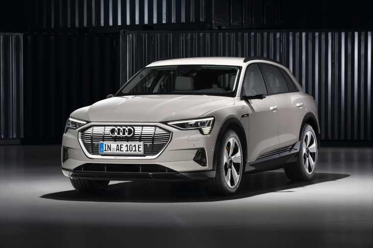 The Audi E Tron Suv Is An Electric Shot At Tesla Techcrunch