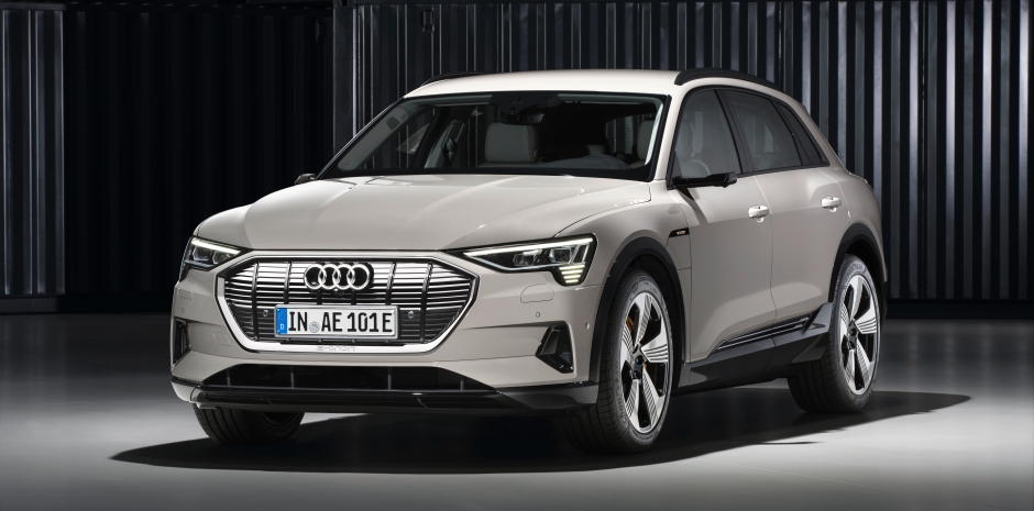 The Audi e-tron SUV is an electric shot at Tesla | TechCrunch