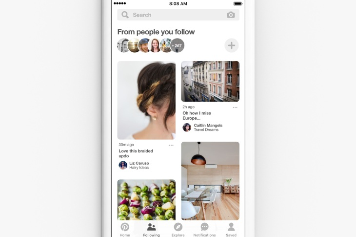 pinterest reports 25 increase in monthly active users techcrunch