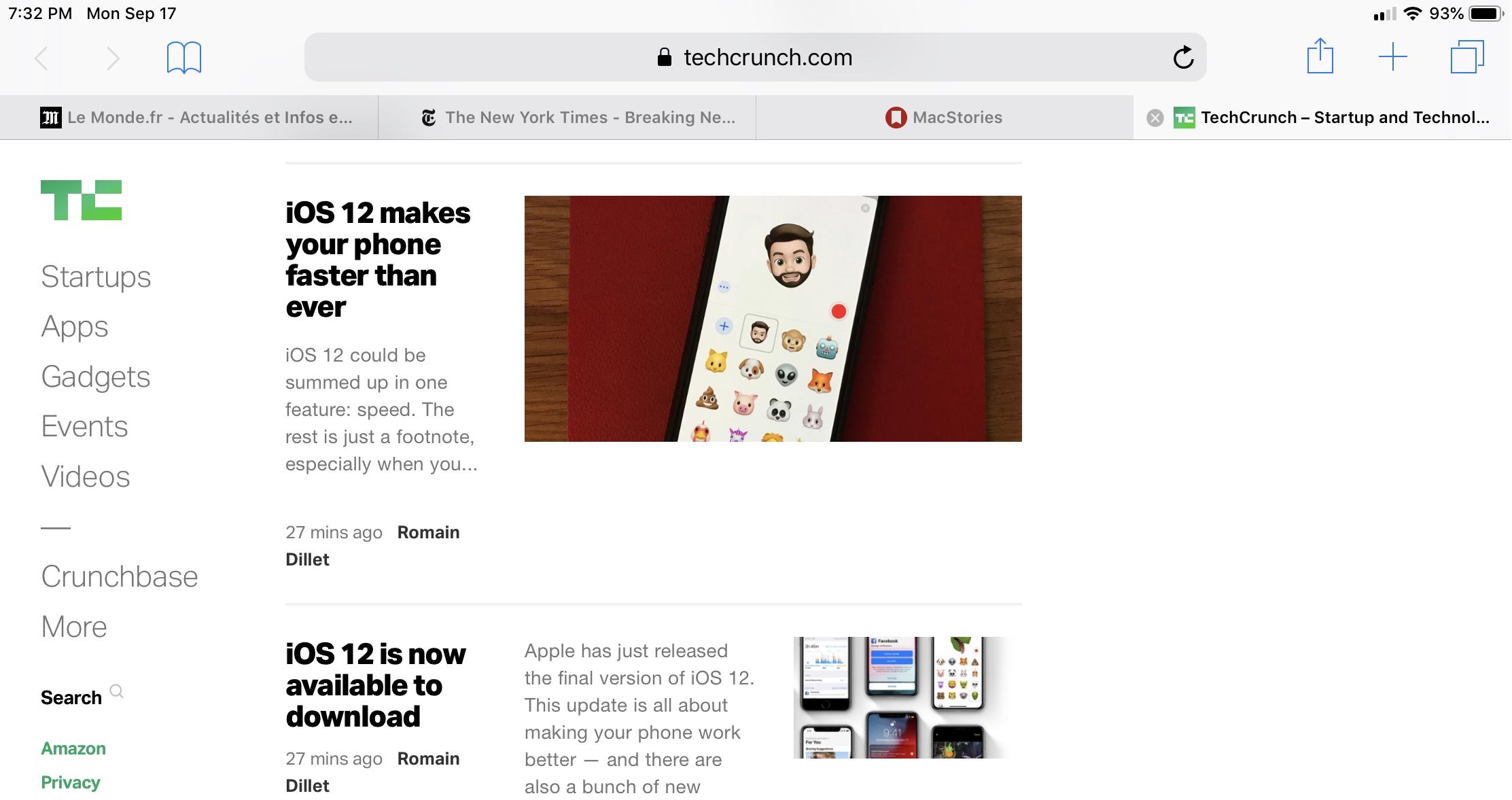 11 neat hidden features in iOS 12 | TechCrunch