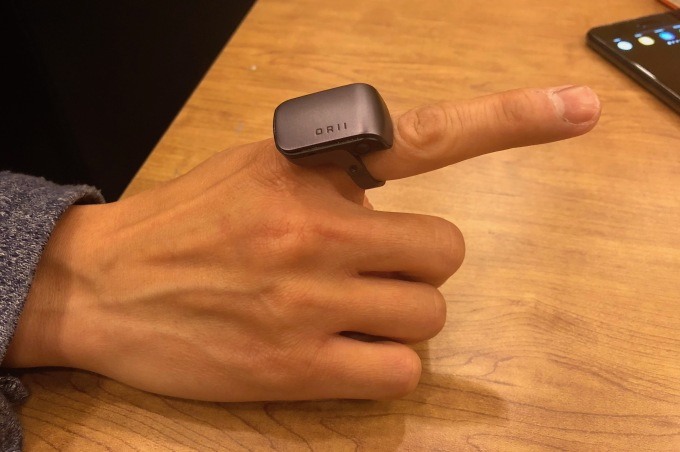 Origami Labs shows off its voice-powered smart ring