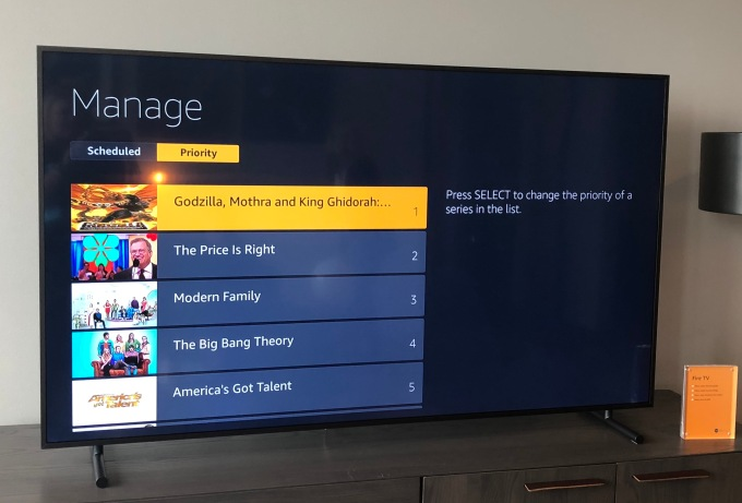 First Look at Amazon's Fire TV Recast, a new device to