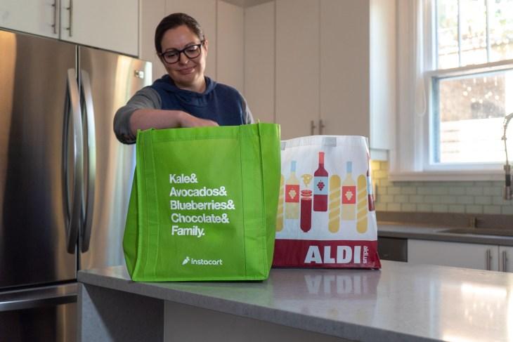 Instacart expands ALDI partnership | TechCrunch