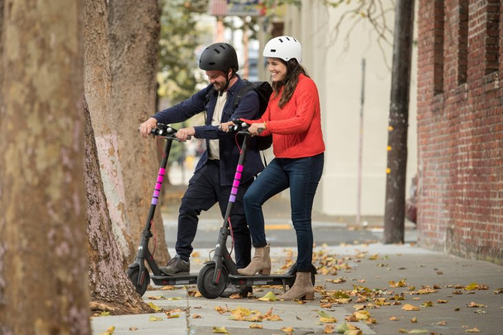 Lyft Has Launched Its Electric Scooters In Santa Monica Calif As Part Of The City S Pilot Program Joining Both Bird And Lime Cnet First Reported