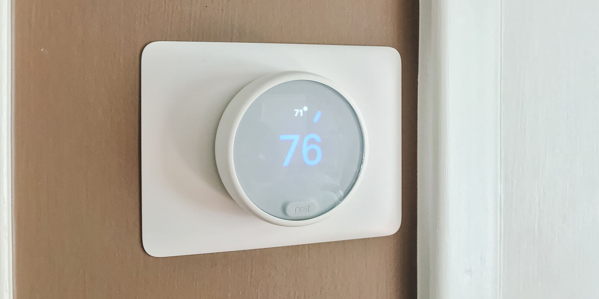 Everyday home gear made smart Nest smart thermostat