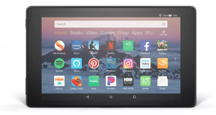Amazon's Fire HD 8 tablet gets updated with hands-free Alexa