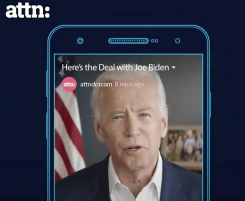 Joe Biden is headed to IGTV