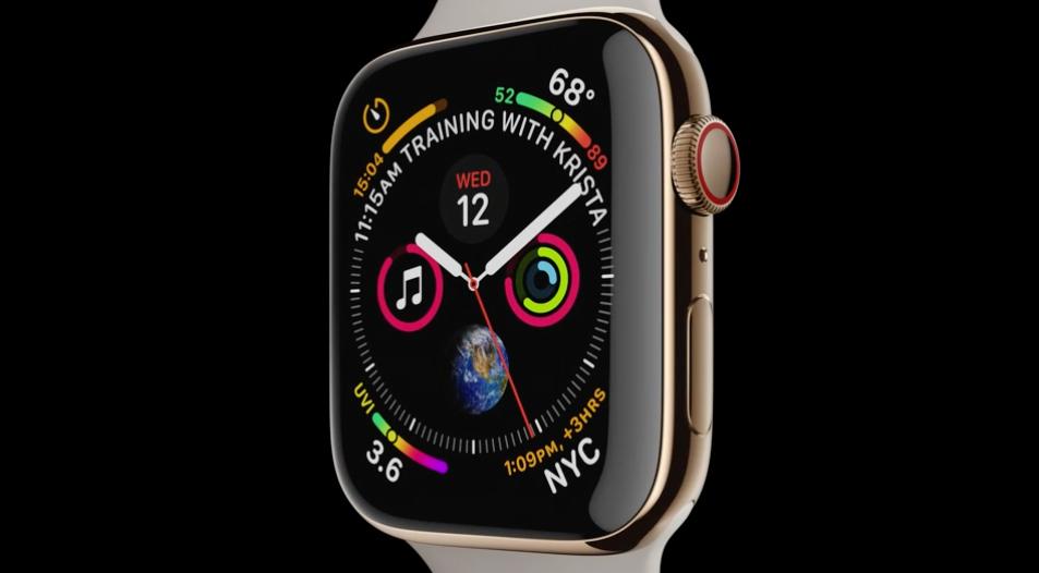 techcrunch.com - Romain Dillet - Apple unveils the Apple Watch Series 4