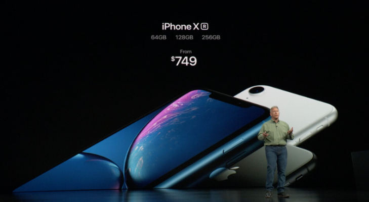 Here Are The Prices Of The Iphone Xs Xs Max And Xr Techcrunch