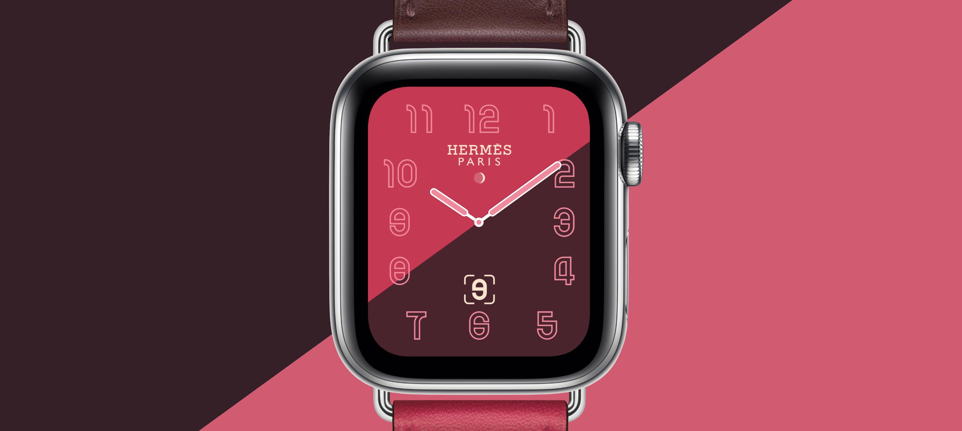 Sfondo hermes per apple watch