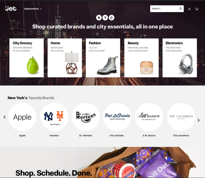 57701167ccc6 The site will also focus on helping shoppers more easily reorder items and  will be personalized to shoppers' own preferences, in terms of things like  ...