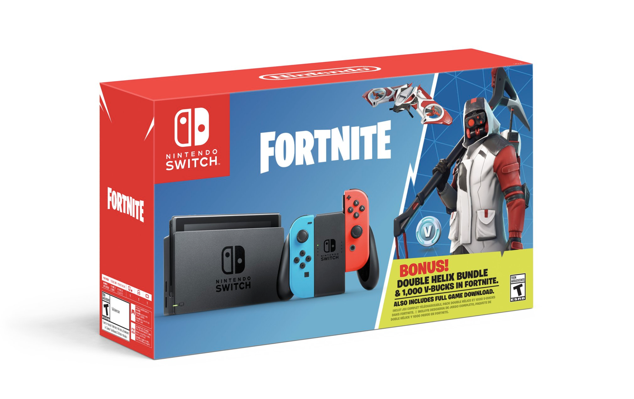 Nintendo is offering an exclusive Fortnite bundle with the Switch