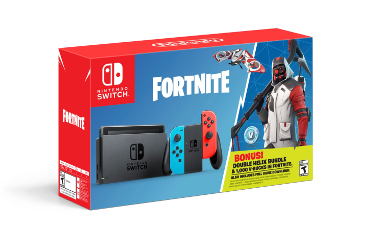 Nintendo is offering an exclusive Fortnite bundle with the