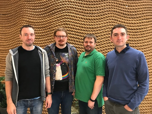 Countingup, the business bank account that combines bookkeeping, raises £2.3M seed Team   Dave Rob Mike Tim LtR
