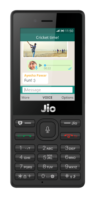 WhatsApp hits India's Jio feature phones amidst fake news