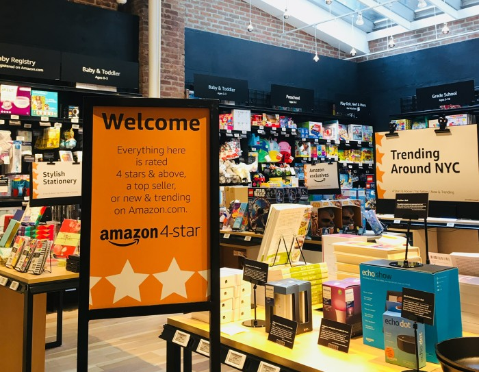 Amazon Is Opening A New Brick And Mortar Store In Nyc Featuring Its
