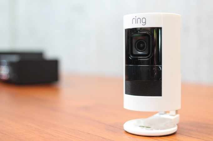 Amazon Shows Off A New 180 Ring Stick Up Cam Techcrunch