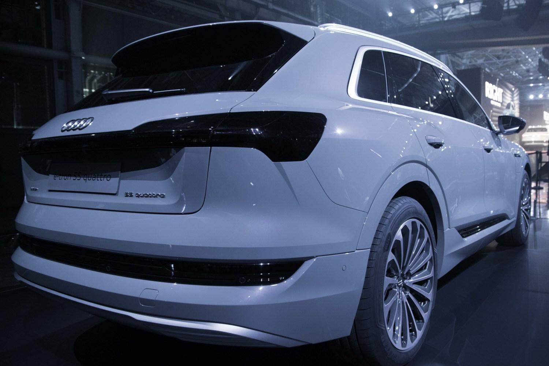 The Audi Etron SUV Is An Electric Shot At Tesla TechCrunch - Audi etron