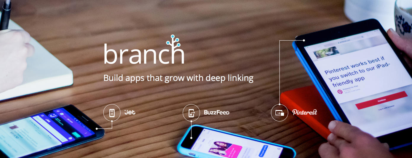 Techmeme: Branch, a deep-linking startup backed by Andy