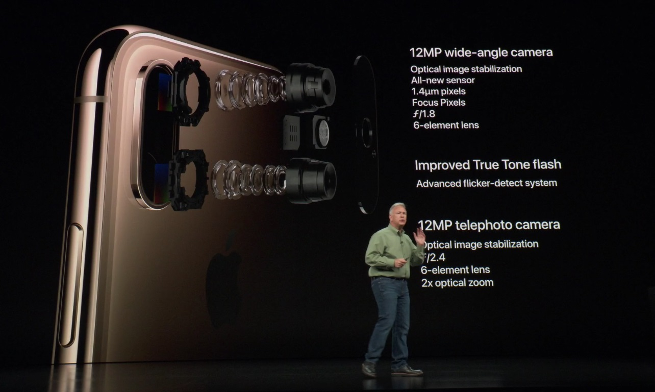 The 7 Most Egregious Fibs Apple Told About Iphone Xs Camera Diagram Of Parts As Phil Would Explain Later A Lot Newness Comes From Improvements To Sensor And Image Processor But He Said That System Was New While