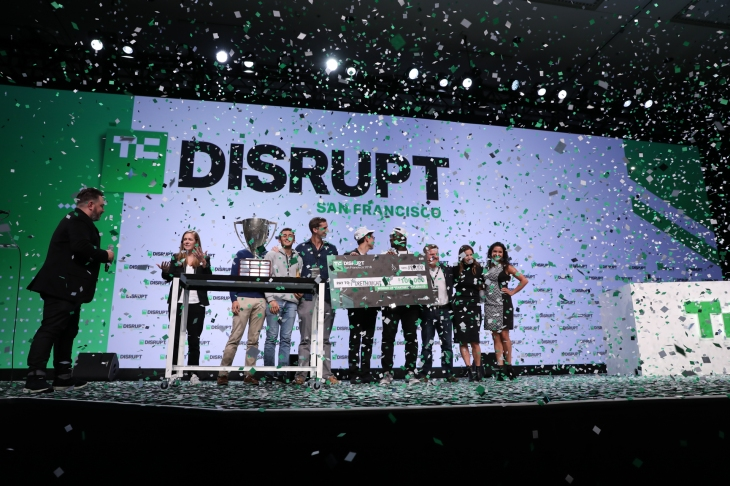 And the winner of Startup Battlefield at Disrupt SF 2018 is