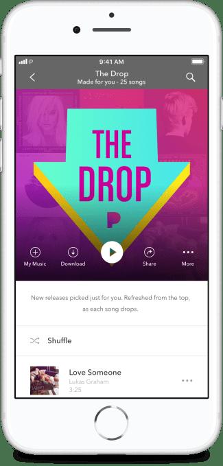 Pandora takes on Spotify's Release Radar with its newest playlist