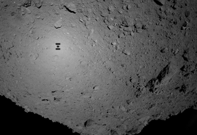Japan's Hayabusa 2 mission lands on the surface of a distant asteroid hayabusa