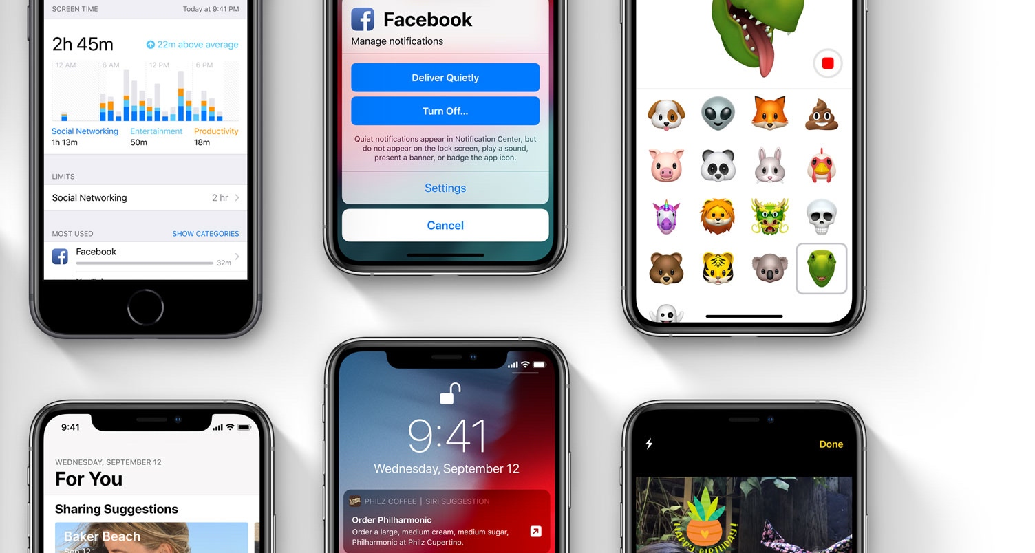 iOS 12 is now available to download | TechCrunch
