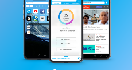 Download Ghostery Privacy Browser for Android, iPhone, and iPad