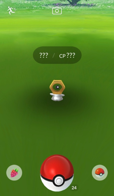 That weird nut Pokémon that showed up in Pokémon Go? It's official now.