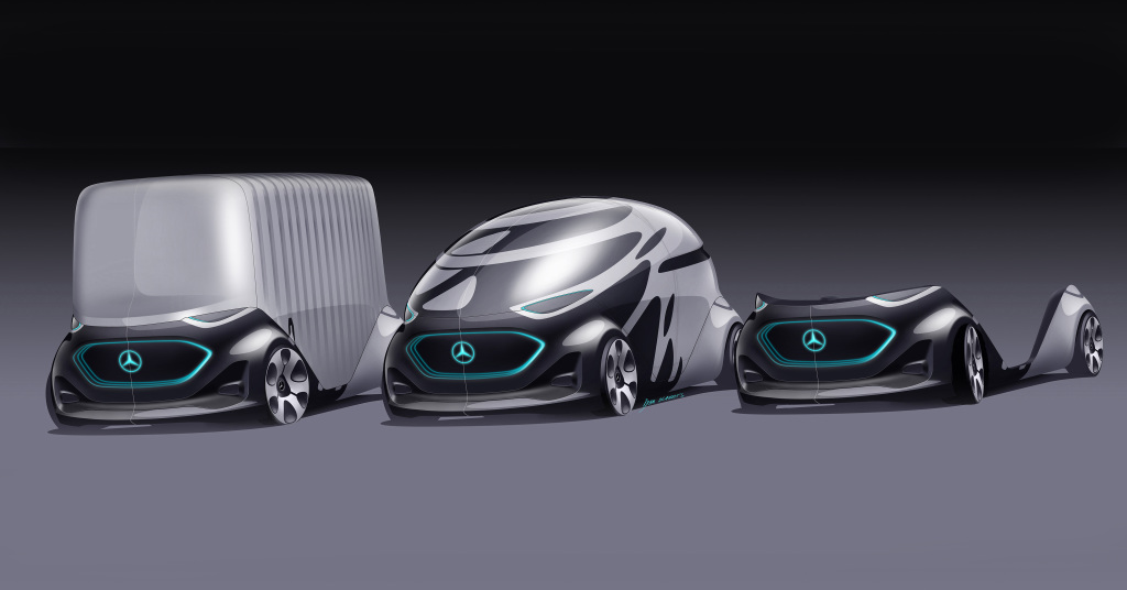 Mercedes-Benz's vision for autonomy is flexible and fugly