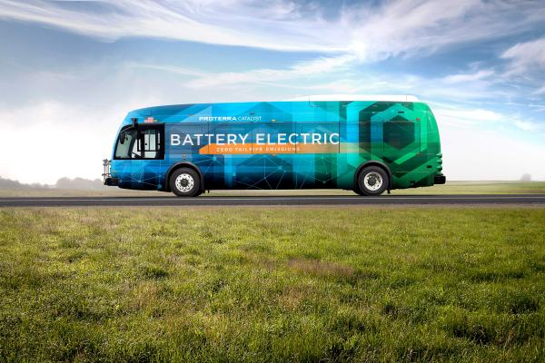 Daimler pours millions into electric bus company Proterra proterra