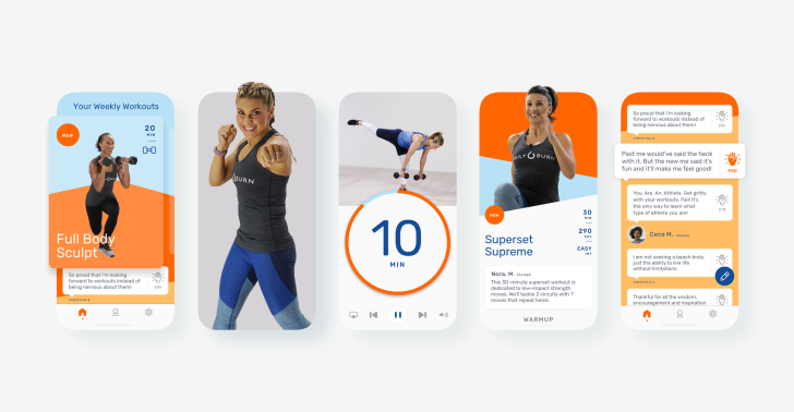 daily burn plans a new line of fitness apps, starting with hiit