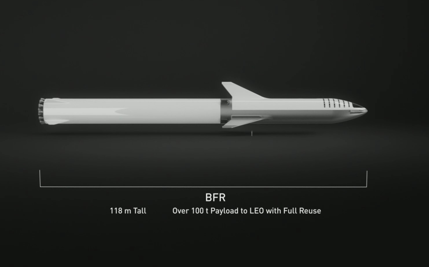 18 new details about Elon Musk's redesigned, moon-bound 'Big F*ing Rocket' spacex3501