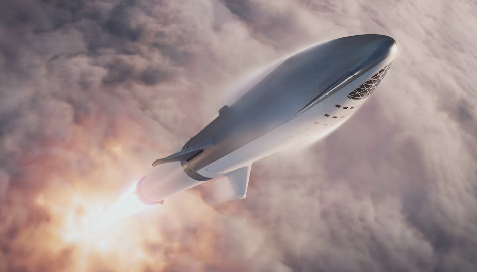 18 new details about Elon Musk's redesigned, moon-bound 'Big F*ing Rocket' spacex4