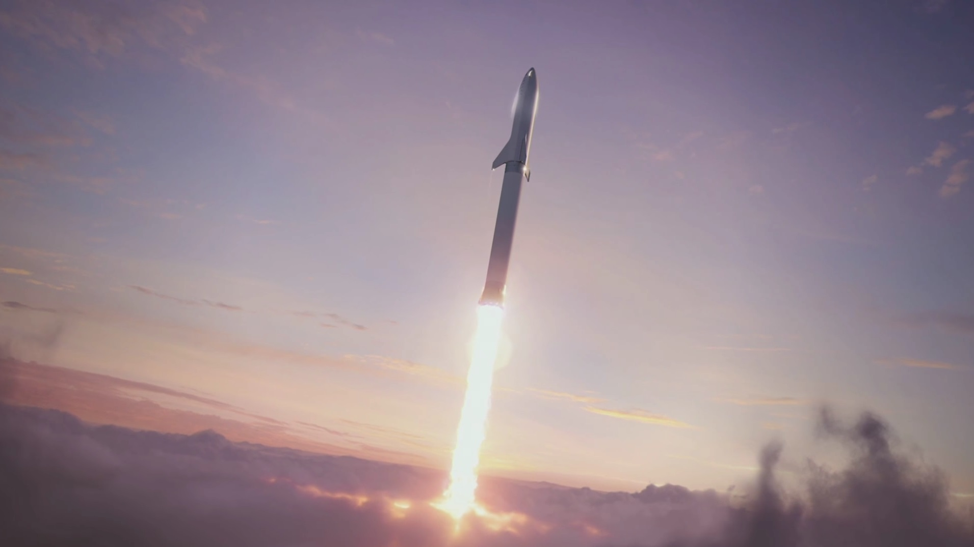 18 new details about Elon Musk's redesigned, moon-bound 'Big F*ing Rocket' spacex5