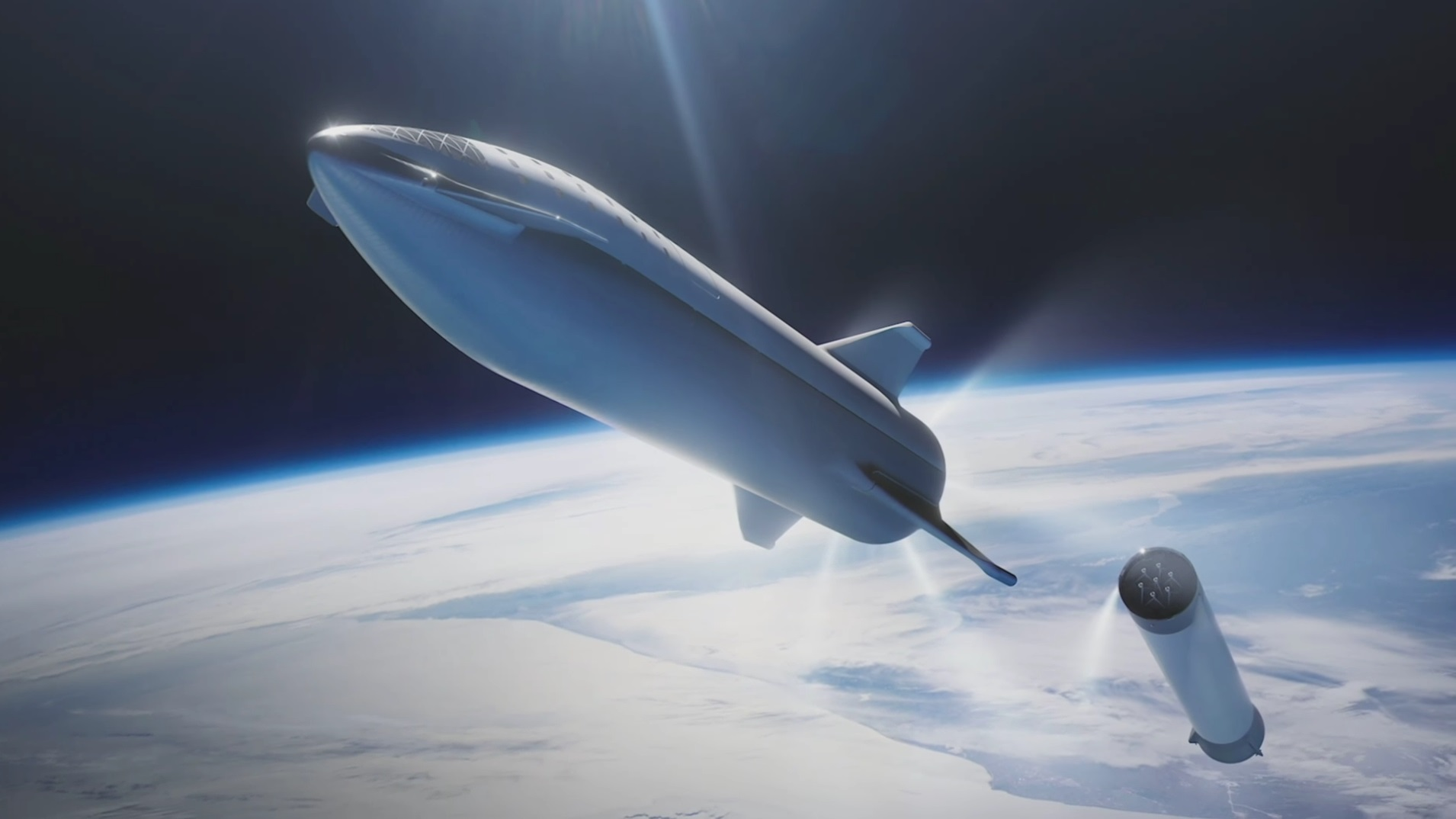18 new details about Elon Musk's redesigned, moon-bound 'Big F*ing Rocket' spacex6
