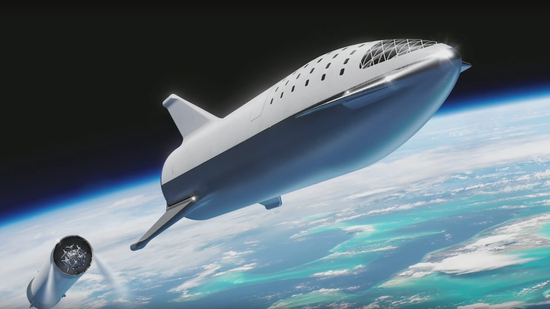 18 new details about Elon Musk's redesigned, moon-bound 'Big F*ing Rocket' spacex7