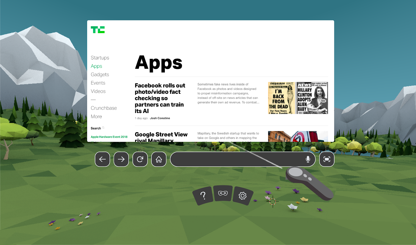 techcrunch.com - Lucas Matney - Mozilla's Firefox Reality web browser is now available